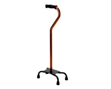 杖 自立式 4点支持杖 ラージベース SSタイプ テツコーポレーション 多点杖 杖 4点 杖 ステッキ