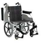 車椅子 軽量 アルミ介助用車いす AR-601 松永製作所(車椅子 車いす 車イス)