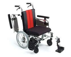 アルミ介助式車椅子MM-FitLo16(低床型)【ミキ】