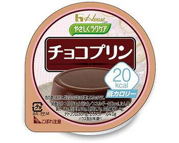 やさしくラクケア 20kcalチョコプリン / 82972 60g【ハウス食品☆☆】【RCP】