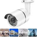 防犯カメラ 赤外線LED36個搭載 室内・屋外設置可能 3.6mm高精細レンズ暗視対応 防水仕様 LP-H102B 3