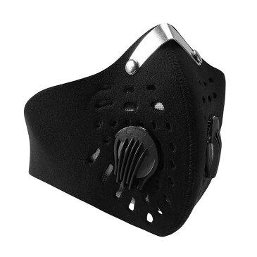 フェイスマスク 防寒 防塵 花粉対策 メッシュ加工 バイク/自転車用 通勤 ツーリング 粉塵フィルター 弾力 伸縮性 フリーサイズ LP-BKMSK01 送料無料 キャッシュレス 還元