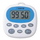 【超特価】【送料無料】SATO佐藤計量器キッチンタイマーTM-111700-30
