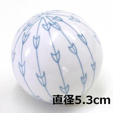 [陶器][フローティングボール]浮き玉 矢絣(やがすり) 大・中・小