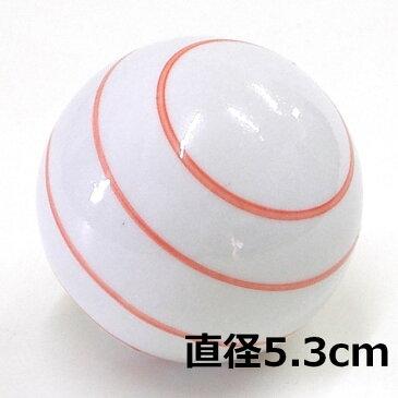 [陶器][フローティングボール]浮き玉 ボーダー レッド 大・中・小