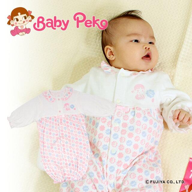fedf6706232de  初売り ベビーペコ(Baby Peko)2WAYドレス ベビー ツーウェイオール ベビードレス