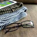 老眼鏡 スクエア 5色 35歳からのスマホ老眼鏡 ブルーライ