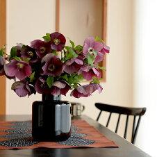 スクルーフSKRUFROベース花瓶フラワーベースブラック北欧スウェーデン手吹きガラス