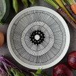 マリメッコ MARIMEKKO 食器 皿 シイルトラプータルハ SIIRTOLAPUUTARHA プレート 25cm 063304 191 ホワイト/ブラック 北欧 フィンランド
