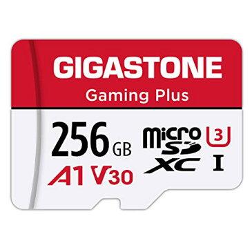 サイズ:256GB Gigastone Micro SD Card 256GB マイクロSDカード Nintendo Switch 動作確認済 SD アダプタ付 adaptor SDXC U1 C10 100MB/S 高速 micro sd カード UHS-I Full HD 動画