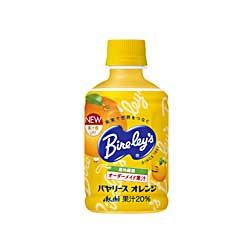 バヤリース オレンジPETボトル280mL×24本(アサヒ飲料)【 送料756円(北海道沖縄は1620円】