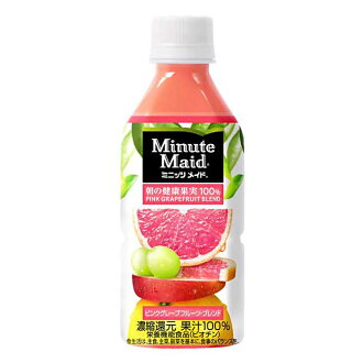 MinitzmaiDPInkgrape 水果混合 350 毫升寵物 x 24 (日本,可口可樂)