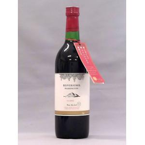 Non alcohol wine / winetasting beverage Tokai produce resveratrol troll Washington 720ml×12 this fs3gm