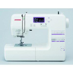 簡單的受歡迎簡單JANOME Janome計算機縫紉機JN-51縫紉機/本體/功能///輕量//計算機縫紉機/ fs04gm
