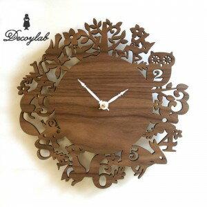 它在美國 DECOYLAB (decoylabo) 鐘是我森林核桃森林動物誰國際貨幣基金組織-W / 壁鐘 / 牆壁 / 牆時鐘、 時鐘、 牆時鐘 / 設計 / 室內 / 古董 / 斯堪的納維亞 / 動漫 /