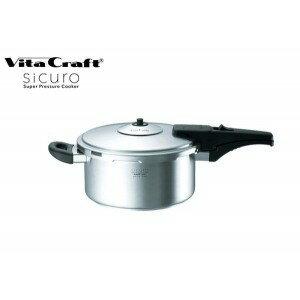 VitaCraft sicuro (Vita Craft 環) 超級壓鍋 4.5 L 壓力鍋 / / 排名 / 義大利/IH/IH 不銹鋼 / 食譜 / 精選 / 壓力罐 /IH 灶