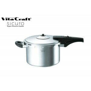 VitaCraft sicuro (Vita Craft 環) 超級壓力泛 6.0 L 壓力鍋 / / 排名 / 義大利/IH/IH 不銹鋼 / 食譜 / 精選 / 壓力罐 /IH 灶