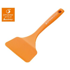 橙色的頁面風格雞蛋烤 miniaturner / 特納 / 特納 / 鍋鏟