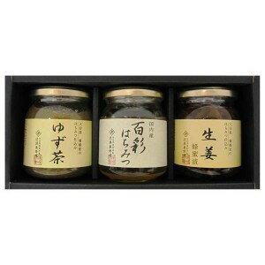 近藤養蜂場蜂之舞3分禮物安排(柚子茶、百彩蜂蜜、生姜蜂蜜漬)/蜂蜜/蜂蜜/蜂蜜/
