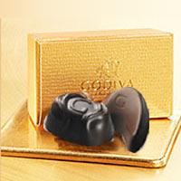 チョコレートの宝石箱とも賞賛されるGODIVA自慢のプラリネのギフトボックス2粒義理チョコ/友チ...