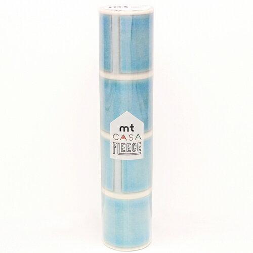mtCASA FLEECE 230mm×5m MTCAF2307 貼ってはがせる簡単DIY マスキングテープ・シール タイル・水色