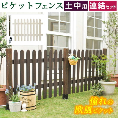 商品リンク:ColorsProさんの木製フェンス1の写真画像