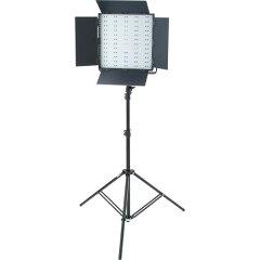 【撮影機材ライトグラフィカ】撮影用LED600スクエア1灯セット(発光部収納用バック付)・