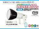 日動工業 エコピック LED投光器100w 常設用 ATL-E100-SW-50K 【本体白・スポット】