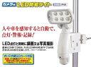 カメラ付LED防犯ライト 日動工業 SLS-8W-C (屋外...