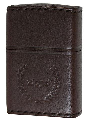 喫煙具, ライター Zippo REAL LEATHER DB-7 zippo