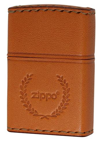 喫煙具, ライター Zippo REAL LEATHER LB-7 zippo