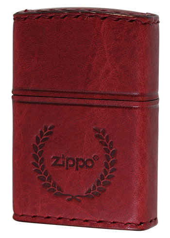 喫煙具, ライター Zippo REAL LEATHER RD-7 zippo