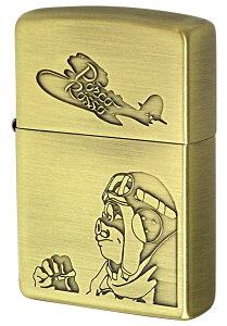 Zippo ジッポー キャラクター スタジオジブリ 紅の豚 ポルコ2 NZ-05 zippo ジッポ ライター オプション購入で名入れ可 メール便可