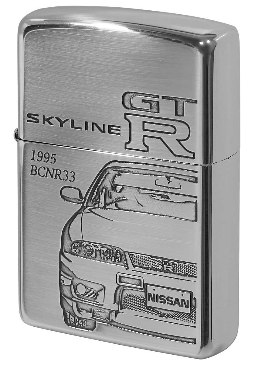 喫煙具, ライター Zippo NISSAN SKYLINE GT-R BCNR33 zippo