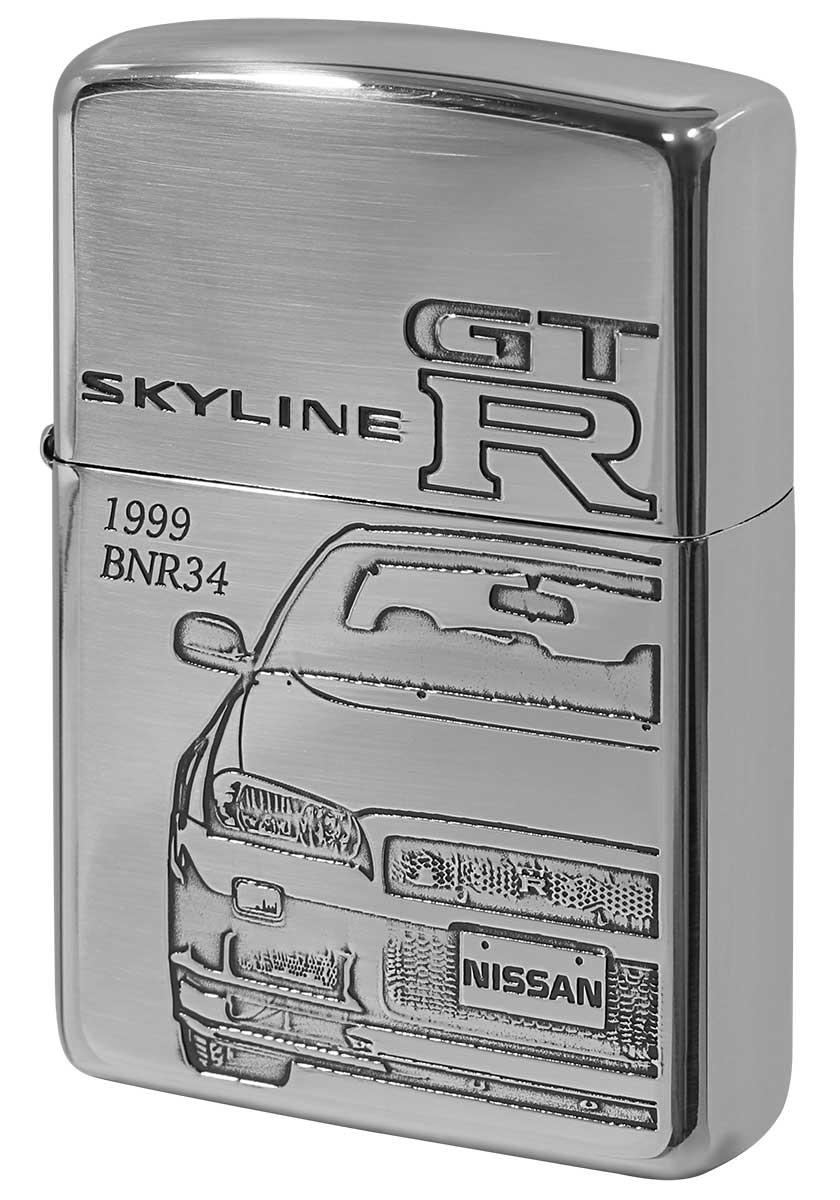 喫煙具, ライター Zippo NISSAN SKYLINE GT-R BNR34 zippo