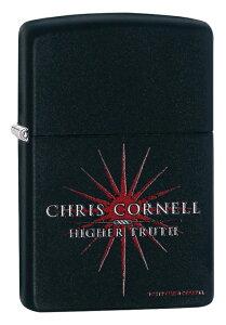 Zippo ジッポー Chris Cornell. Higher Truth 29732 zippo ジッポ ライター オプション購入で名入れ可 メール便可