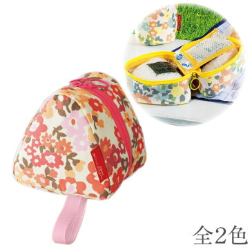 ★期間限定P10★ バッグ 保冷 保温 チョコっと便利なおにぎりバッグ 花柄 アイデア 便利