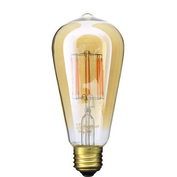 【ポイント10倍】 エジソン電球型LED電球 E26/400lm 0553-li-ldf30a