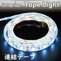LEDインテリアテープライトセットCOOLWHITE