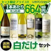 白ワイン6本セット 《第52弾》お買い得に飲み比べワインセット!【送料無料】