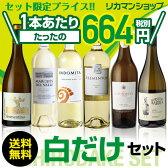 白ワイン6本セット 《第53弾》お買い得に飲み比べワインセット!【送料無料】