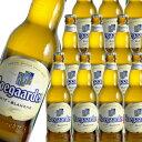 【送料無料】【ケース販売】ヒューガルデン・ホワイト330ml×24本 瓶[並行品][ホーガーデン][輸入ビール][海外ビール][白ビール][ベルギー][Hoegaarden White](沖縄送料+1,000円、クール便+216円)