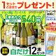 白だけ特選ワイン12本セット74弾【送料無料】[ワインセット][白 ワインセット][長S]