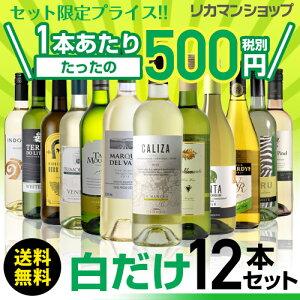 白だけ特選ワイン12本セット49弾【送料無料】[ワインセット]