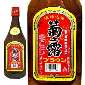 菊之露 ブラウン 30度 720ml宮古島 菊之露酒造[泡盛][720ml]【YDKG-k】【ky】