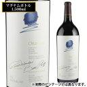 (全品P2倍 11/25限定)オーパス ワン 2014 マグナム 1500ml カリフォルニア 赤ワイン 1.5L お歳暮 御歳暮