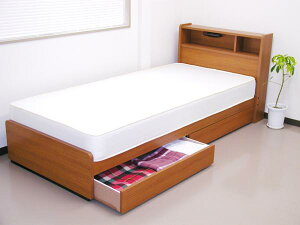 棚照明引出付セミシングルベッド