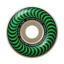 【SPITFIRE】 FORMULA FOUR CLASSIC GREEN 52MM 101D (Set Of 4) WHEEL スピットファイヤー ウィール スケートボード スケボー SKATEBOARD
