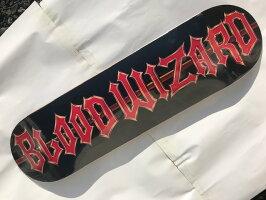 【BLOODWIZARD】FUBARLOGO8.125×31.7SkateboardDeckスケートボードデッキ