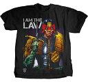 『 ジャッジ・ドレッド 』( Judge Dredd )I AM THE LAW MENS TEE Tシャツ T-shirt